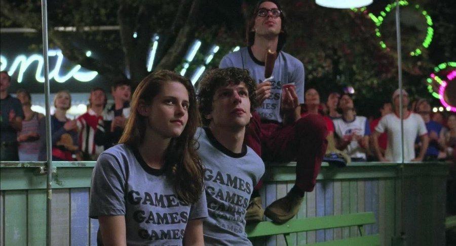 Shot from the movie Adventureland (2009)